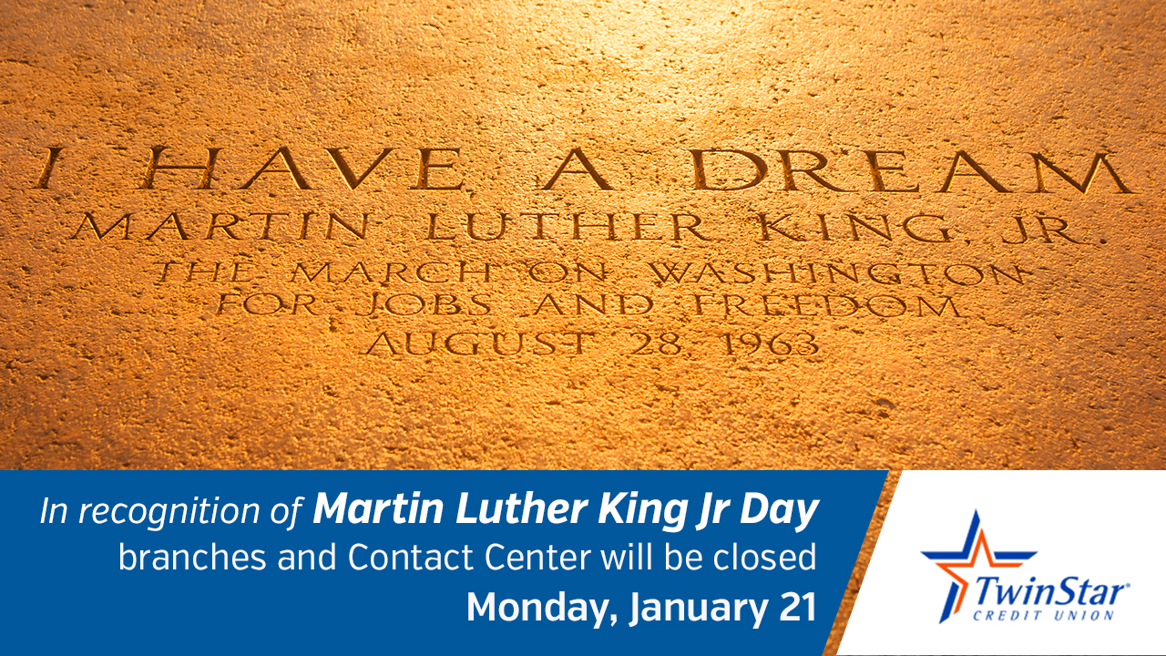 Martin Luther King Jr Day Holiday
