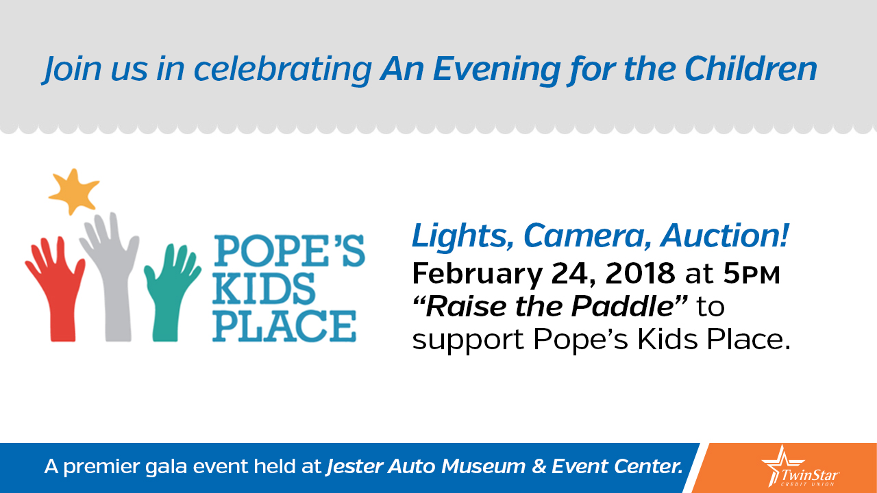Pope's Kids Place Annual Benefit Gala