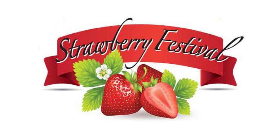 84th Annual Strawberry Festival logo
