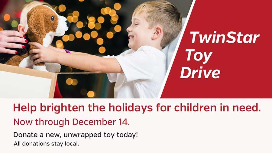 TwinStar Toy Drive