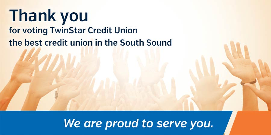 TwinStar Named Best Credit Union In Best Of South Sound Poll