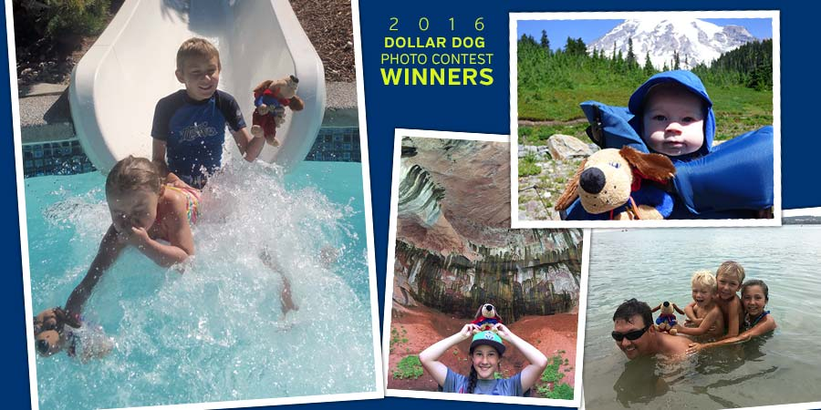 Dollar Dog Vacation Photo Contest 2016 winners
