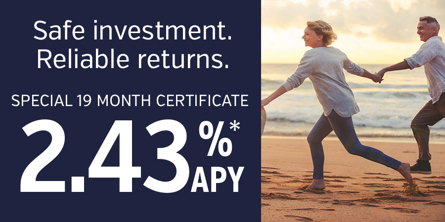 Certificates of Deposit Special Rate