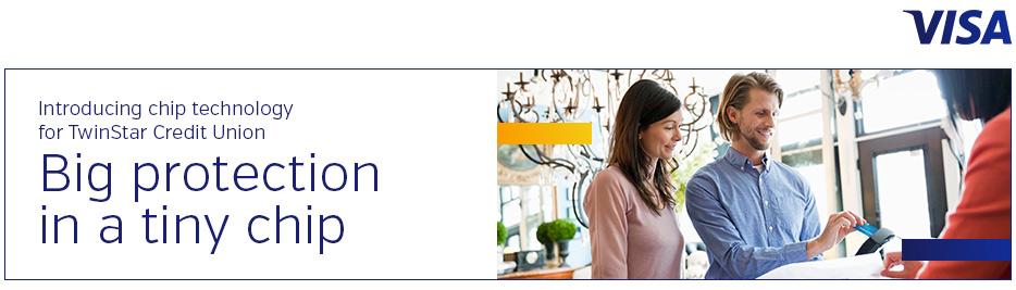 Visa EMV card promotional image