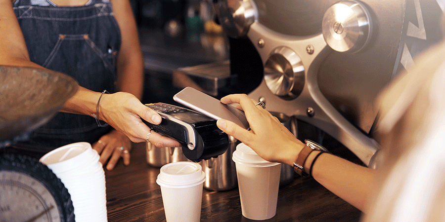 Mobile payment using a phone
