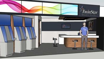 Artists rendition of the new branch inside Safeway