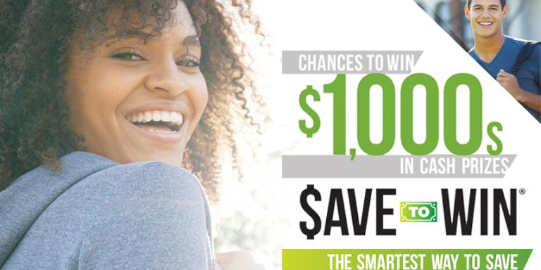 Save to Win is a prize-linked savings account