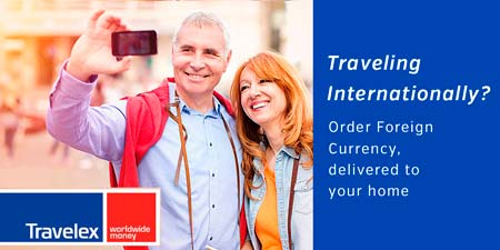 Buy Foreign Currency with Travelex